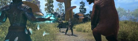 The Elder Scrolls Online: Morrowind Test