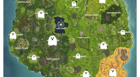 How to Find Ghost Decorations and Destory Them in Fortnitemares